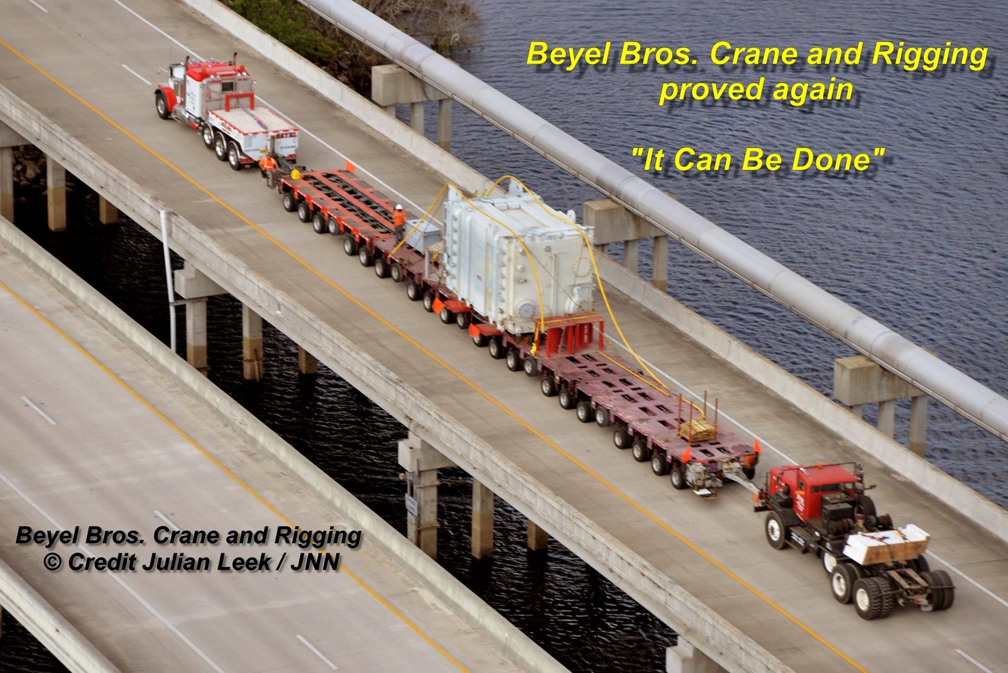 Beyel Brothers - Heavy Haul 101 - www.beyel.com